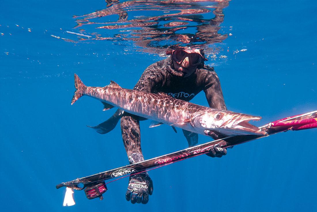 Spetton pesca submarina